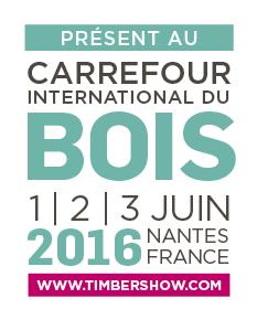 Sotrinbois présent au Carrefour International du Bois