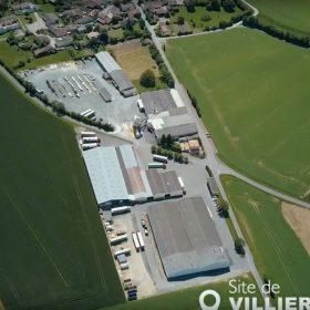 Vue aérienne des sites Sotrinbois – GTSwood