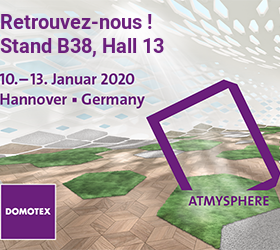 SOTRINBOIS expose au salon DOMOTEX 2020
