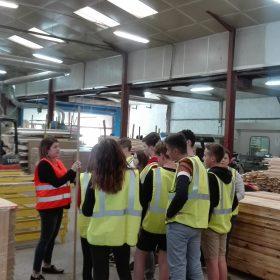 Visite du Collège d'Aulnay de Saintonge